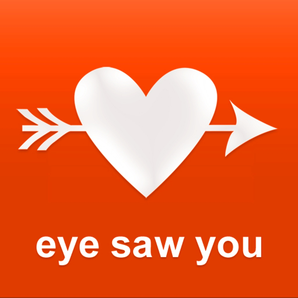 eye saw you - meet singles, missed connections app icon